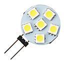 G4 1.2w 6-vodio 5050 topla bijela okruglog oblika LED žarulja