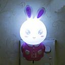 krásný králík inteligentní lehké kontrolované nouzové LED noční světlo pro dětský pokoj domácí dekoraci