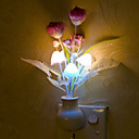 krásná houba lampa chytrý světlo řízené nouzové LED noční světlo pro dětský pokoj domácí dekoraci (náhodné barvy)