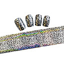 10ks 100cmx4cm třpytky na nehty fólie nálepka kutilství krásy nehtové ozdoby nail art nálepka stzxk01-49