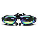FEIUPE Goggles Πισίνα Žene / Men's / Uniseks Anti-Magla / Vodootporno / Podesiva veličina / Anti-UV silika gel PCObala / Sive boje / Crn