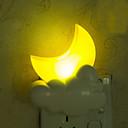 krásný měsíc inteligentní lehké kontrolované nouzové LED noční světlo pro dětský pokoj domácí dekoraci
