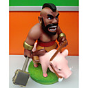 Slika HOO Model plemenski rat plemenski sukobi svinja set Model doll ukrasa 1pc 16 cm