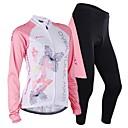 NUCKILY® Biciklistička majica s tajicama Žene / Muškarci Dugi rukav BiciklProzračnost / Ugrijati / Vjetronepropusnost / Anatomski dizajn