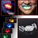šareni treptanje LED bljeskalica svjetlo usta straža komad 4 boje stranka sjajni zub igračke svečane stranka pomagala