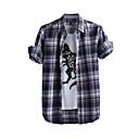 JamesEarl Muškarci Kragna košulje Dugi rukav Shirt & Bluza Smeđa - DA202049104