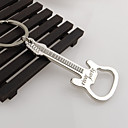 dárek zinek otvírák na pivo slitina kytara láhve otvírák klíčenka klíčenka kroužek klíč přívěšek na klíče
