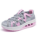 Women's Shoes Tulle Flat Heel Comfort Fashion Sneakers Athletic / Casual Blue / Pink