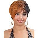 ženy dáma krátký mix barev syntetické vlasy, paruky