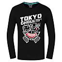 Inspirirana Tokio Ghoul Ken Kaneki Anime Cosplay nošnje Cosplay Tops/Bottoms Print Crna Dugi rukav Top