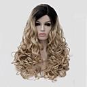 nejprodávanějším dlouho velikostí multi-barva černá mix blond vlnité vlasy syntetické paruky