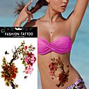 5kom vodootporan božur leptir tijelo ruka si privremeni tattoo naljepnicu