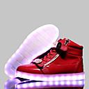 Kůže-Pohodlné Light Up boty-Dámské-Černá Modrá Červená Bílá-Běžné Atletika-Plochá podrážka