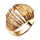 Prstenje Kubični Zirconia Round Shape Moda Vjenčanje / Party / Dnevno / Kauzalni Jewelry Žene Klasično prstenje 1pc,6 / 7 / 8 / 9 / 10