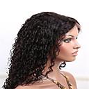 赤ちゃんの髪の8月26日インチ人毛100%完全なレースのかつら130%の密度アフロ変態カーリー