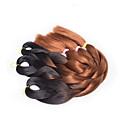 Bež box pletenice Twist pletenice Ekstenzije za kosu 20inch Kanekalon 3 Nasukati 100G gram Sušilo za pletenice