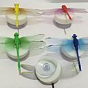 Simulacija Dragonfly šarene noćno svjetlo sa lizalicu