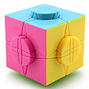 Puzzle Toy IQ Cube Yongjun Alien Professional Level Smooth Speed Cube Magic Cube puzzle Black / White / Pink Plastic