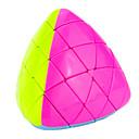Magic Cube / Puzzle Toy IQ Cube Yongjun Pyramorphix Professional Level / / Smooth Speed Cube Magic Cube puzzle Pink