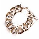 Narukvice Gipke i čvrste narukvice Legura Heart Shape / Ljubav Moda Jewelry Poklon Zlatna,1pc