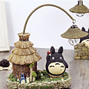 1PC LED Battery Originality Home Furnishing Decorate Thatched Houses Totoro Night Light