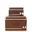 Skladovací krabice / Skladovací koše / Skříňky Netkané svlastnost je S víčkem , Pro Spodní prádlo / Látka / Přikrývky