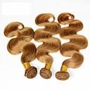 人間の髪編む ブラジリアンヘア ウェーブ ヘア織り