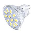 3 GU4(MR11) LED bodovky MR11 12 SMD 5733 250 lm Teplá bílá / Chladná bílá Ozdobné 9-30 V 1 ks