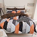 Geometrický Povlečení 4 kusy Polyester Vzor Reaktivní barviva Polyester Queen 4 ks (1 x povlak na přikrývku, 1 x prostěradlo, 2 x povlak)