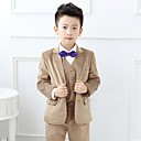 Polester / Cotton Blend Odijelo za malog djevera - 5 Komadi Uključuje Jakna / Shirt / Maja / Hlače / Bow Tie