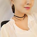 Ogrlice Choker oglice Jewelry Party / Dnevno / Kauzalni Moda Legura Crna 1pc Poklon