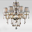 40W Lusteri ,  Modern/Comtemporary / Traditional/Classic / Vintage Electroplated svojstvo for Crystal GlassLiving Room / Bedroom / Dining