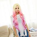 Capless perika Perika za žene Pink Kostim perika cosplay perika
