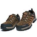 Atletické boty-Semiš-Pracovní obuv-Pánské-Khaki Tmavě zelená-Outdoor Atletika-Nízký podpatek