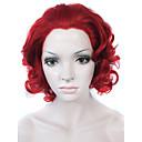 Čipka vlasulja Perika za žene Crvena Kostim perika cosplay perika