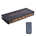 HDMI Switch 5x1 4k @ 60Hz UHD 5 HDMI ulaz 1 HDMI izlaz metal kuća podrška hdcp2.2 hdmi2.0 s daljinskim&adapter