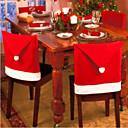 クリスマスデコレーション椅子カバー6個 65* 50センチメートル