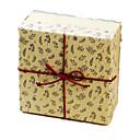 koža papir cvijet konoplja konopac poklon kutija
