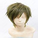35 cm cospaly paruka anime Makoto Tachibana krátký prádlo šedozelená vrstvené kostým paruka