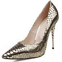 Žene Cipele na petu Proljeće Ljeto Jesen Zima Udobne cipele Klub obuća Osvijetlite Shoes Koža Formalne prilike Ležeran Zabava i večer