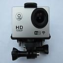 Action Camera / Sports Camera 12MP / 8MP / 5MP 640 x 480 / 1024x768 WIFI / ワイヤレス / 多機能 1.5 / 2 シングルショット / バーストモード / タイムラプス 30 Mユニバーサル /