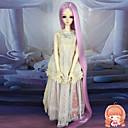 75 cm Extra dlouhé rovné růžová barva na vlasy 1/3 1/4 BJD SD dz panenka paruka accessries ne pro dospělého člověka
