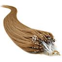 """20 """"zlatno smeđa (# 12) 100s mikro petlje Remy ljudske kose ekstenzije"""