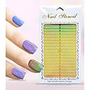 Nový nail art duté samolepky květ luk-uzel geometrický obraz konstrukce nail art krása k071-080