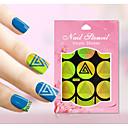 1 Nail Art samolepka Diecut Manikúra šablony Ozdoby na nehty Komiks Květina Půvab make-up Kosmetické Nail Art design