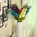 Austin Delphinium u svilene tkanine umjetnog cvijeća za uređenje doma (1piece)