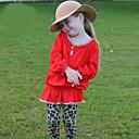 Dívka je Matná černá Celoročně Sady oblečení Směs bavlny