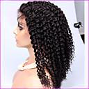 Hustoty 250% brazilské Kinky kudrnaté krajka přední paruky afro Kinky kudrnaté plnou krajka lidského vlasu paruky pro černé ženy