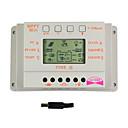 Y-太陽10aはLCDディスプレイソーラー充電コントローラの12V 24VオートスイッチM10