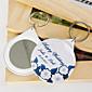 osobní zrcadlo kroužek na klíče - pivoňka (sada 12)